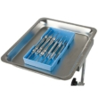 Blue Autoclavable - 135°c Instrument Tray 3 3/4 x 7 3/4