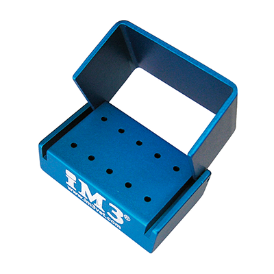 iM3 Aluminium autoclavable bur holder for 10 FG burs