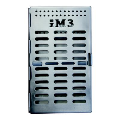 iM3 S/S instrument tray / case 20.5 x 12 x 3cm