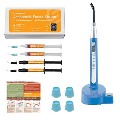 GingiShield™ Starter Kit - Enthält: GIN001, L6000, END001 und eine grafische Anleitung